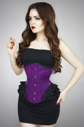 Underbust Purple Mermaid